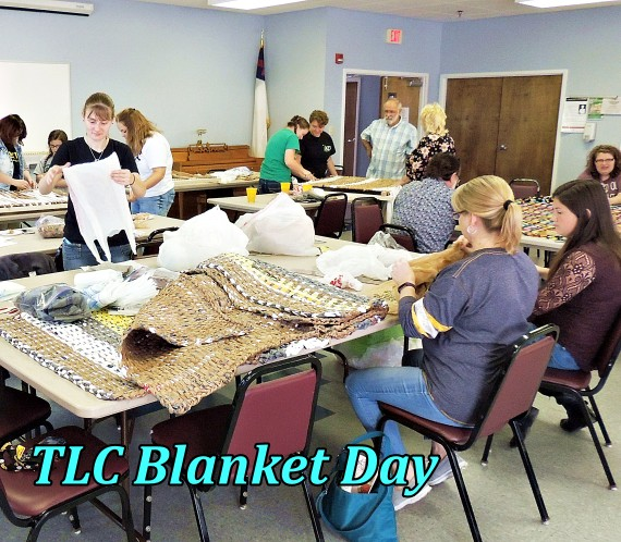 TLC Blanket Day 3